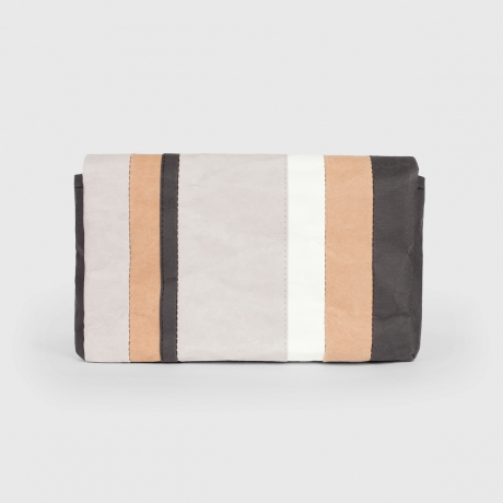 Клатч STRIPED KRAFT SAHARA