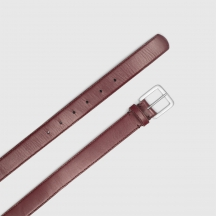 Ремень SIMPLE BELT BURGUNDY